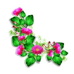 """Photo from album """"Цветочные уголки"""" on Yandex. My Flower, Flower Power, Pretty Flowers, Pink Flowers, 2 Clipart, Phone Screen Wallpaper, Mom Day, Nail Decals, Views Album"""