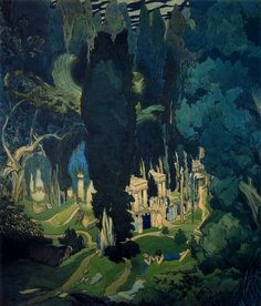 Elisium, 1906  Leon Bakst
