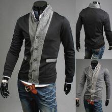 Slim Fit Knitwear Men's Sweater/Spring Autumn Tops Sweater For Men