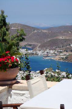 Loza, Patmos, Greece Santorini Villas, Myconos, Greece Islands, Holiday Accommodation, Ancient Greece, Beautiful Islands, Night Life, Scenery, Places