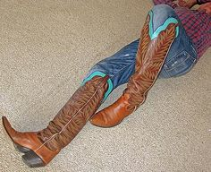 ANOTHER PAIR OF MAGNIFICENT PAUL BONDS! SUPER TALL MOUNT TRUMBULLS. AUG. '17. Mens High Boots, High Heel Cowboy Boots, Man Boots, Cool Boots, Riding Boots, Dress With Boots, Jeans And Boots, Buckaroo Boots, Cop Uniform