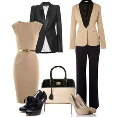 Office chic, yeah if I worked at Pearson Darby.... but, I love just the same..