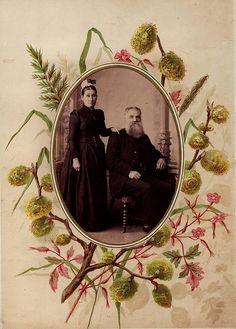 Victorian photo album page by Crafty Dogma, via Flickr
