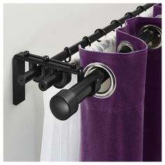 Advantages Of Possessing Double Curtain Rods picture