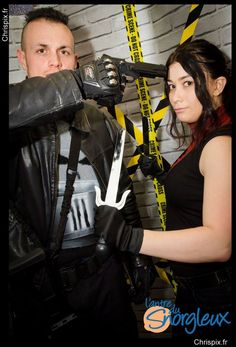 My cosplay of Elektra Natchios and a friend Bane Bane as The Punisher from Marvel's Daredevil by Netflix. #BaneBane #ThePunisher #Elektra #Natchios #Marvel #Daredevil #Netflix #costume #ThePunisher #MattMurdock #FranckCastle #FranckCastleCosplay #ThePunisherCosplay #DaredevilCosplay #ElektraNatchios #ElektraNatchiosCosplay #ElektraCosplay #MarvelCosplay #NetflixCosplay #FCBD2016 #FreeComicsBookDay