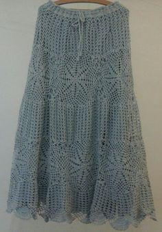 52 Ideas crochet skirt long charts for 2019 Crochet Skirts, Crochet Tunic, Crochet Clothes, Crochet Lace, Clothing Patterns, Dress Patterns, Crochet Ripple Afghan, Crochet Lingerie, Crochet Hat For Women