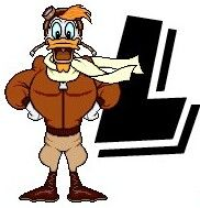 L for Launchpad (ABCs by Unknown) #DuckTales
