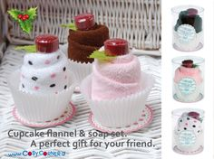 Ένα υπέροχο δωράκι για την φίλη σας!  Η συσκευασία δώρου περιέχει μία πετσέτα προσώπου και ένα σαπούνι.www.cosycorner.gr