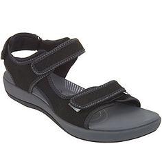 Clarks Cloud Steppers Adjustable Sport Sandals - Brizo Sammie