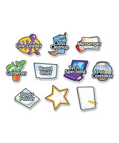 Look at this Magnetic Job Label - Set of 10 on #zulily today!