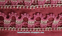 Hünerlerimiz: Çeyizlik tığ oyası - 4 Crochet Stitches, Diy And Crafts, Crochet Necklace, Elsa, Pattern, Curly, Videos, Crochet Appliques, Sewing Projects
