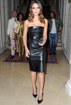 Jessica Alba in Versace