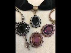 Interlace Isabella Necklace & Wreath Sun Catcher - YouTube