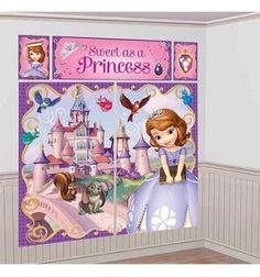 Party Corner Provide Complete Range of Sofia The First Scene Setter party supplies, Themes and Decorations, Tableware, Balloons and Party Favors or much more with discounted price at partycorner.com.au #SofiaTheFirst #PartyCorner