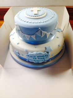 Quite like the way the cross is done on plaque but otherwise don't like much else about this cake: