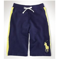 Polo Ralph Lauren Refined Leisure Breathable Navy Beach Shorts http://www.ralph
