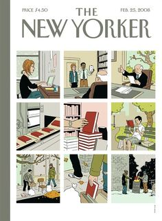Adrian Tomine | The New Yorker Covers
