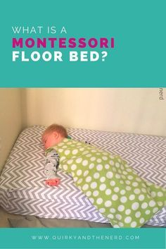 What is a floor bed? In our Montessori household, my toddler sleeps in a floor bed. But many people think it is strange. Read on for the pros and cons and what exactly a floor bed is.