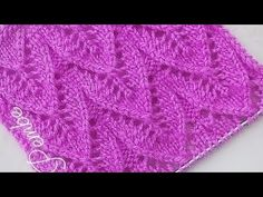 Knitting Videos, Knitting Stitches, Knitting Patterns, Baby Sewing, Stitch Patterns, Diy And Crafts, Outdoor Blanket, Crochet, Blog