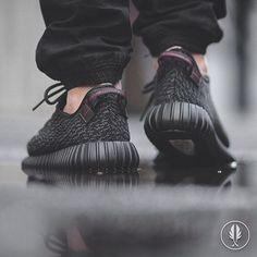 """Adidas Yeezy Boost 350"" •Pirate Black• 