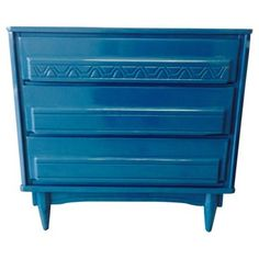 Check out this item at One Kings Lane! Peacock Lacquered Bachelor's Chest