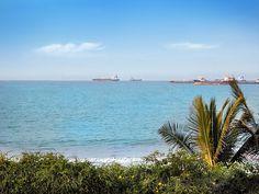 View from Casa Blanca Playa Cautivo.  South Coast of Ecuador