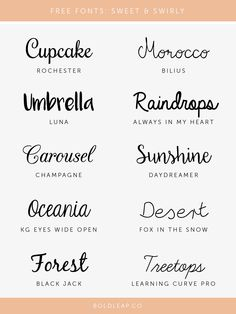 Hand Lettering Alphabet, Script Lettering, Calligraphy Fonts, Lettering Styles, Cute Fonts, Fancy Fonts, Word Fonts, Handwriting Fonts, Swirly Fonts