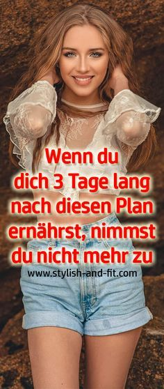 Wenn du dich 3 Tage lang, nach diesen Plan ernährst, nimmst du nicht mehr zu - Stylish and Fit The Effective Pictures We Offer You About House bathroom A quality picture can tell you many things. The Plan, How To Plan, Fitness Diet, Health Fitness, Body Fitness, Workout Fitness, Definition Of Health, Weight Gain, Weight Loss