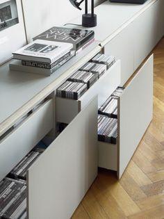 Organiser le meuble mais garder une vue d'ensemble épurée