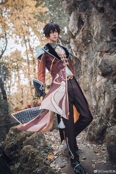 Amazing Cosplay, Best Cosplay, Cosplay Boy, Cosplay Costumes, Cosplay Characters, Dnd Characters, Cute Anime Guys, Pose Reference, Pretty People