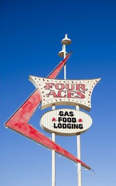 Four Aces #vintage #signs