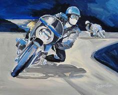 Cafe Racer Art   Cafe Racer Art   Cafe Racer Art (Ton up)   Pinterest