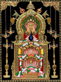 Muruga Homa is also called the Subramaniya Homam. It is performed for Lord Muruga and he is invoked by the chanting of Muruga Mantras. Mysore Painting, Tanjore Painting, Hindu Rituals, Hindu Mantras, Lord Murugan Wallpapers, Martial Arts Weapons, Lord Shiva Family, Shiva Statue, Lord Krishna Images