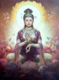 I remind you that you shine with the purity of a thousand suns . . . Kuan Yin