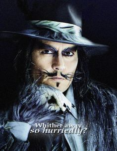 Johnny Depp is The BIG BAD inthe film  Into the Woods