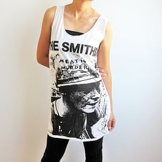 The Smiths Morrissey Shirts Meat Is UK Murder by TheRockerShop, $14.99