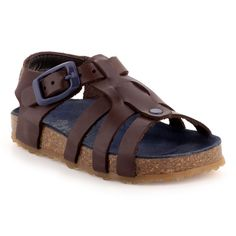 Sandales/Nu-pieds Cuir chocolat pour Bébé : Sandales/Nu-pieds Pat et Ripaton - 32,99€