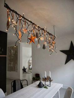 déco étoiles à la cuisine