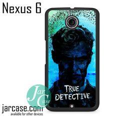 True Detective Rustin Cohle Art Phone case for Nexus 4/5/6