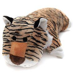 #doll, #plush gift, #latex doll... Amazon.com - Greenlatex Thailand Natural Latex Tiger Doll Pillow Brown -