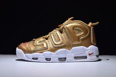 d1a07fa94b13 Supreme x Nike Air More Uptempo  Metallic Gold  902290 700