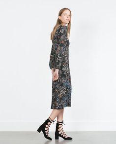 Zara kleid mit print