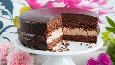 Suklainen kakku - Yhteishyvä Sweet Pastries, Vanilla Cake, Tiramisu, Food And Drink, Cooking Recipes, Pudding, Sweets, Chocolate, Baking