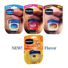 Vaseline Lip Therapy Soft & Smooth Lip Balm 0.25 oz *Choose Flavor*