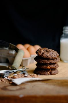 Chocolate and Peanut Butter Cookies by How To: Simplify, via Flickr