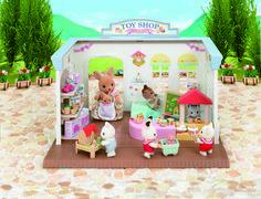 Набор магазин игрушек sylvanian families