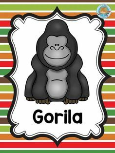 - Welcome to our website, We hope you are satisfied with the content we offer. Jungle Crafts, Preschool Jungle, Preschool Crafts, Jungle Animals, Baby Animals, Cute Animals, Gorilla Craft, Bottle Buddy, Baby Painting