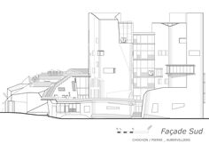 FCLP architecte deliver conservatoire d'aubervilliers in france