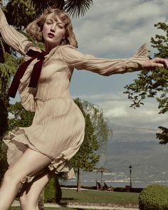 Lou Schoof in 'Lazy Days of Summer' by Elizaveta Porodina for Conde Nast Traveller UK