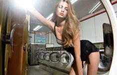 I wanna do laundry there